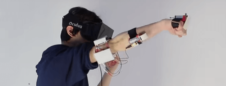 Feel the Blow in Virtual Reality – Get Punched in VR Games