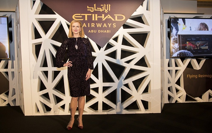 Etihad Airways calls in Nicole Kidman for 360 degree VR Advertising Campaign