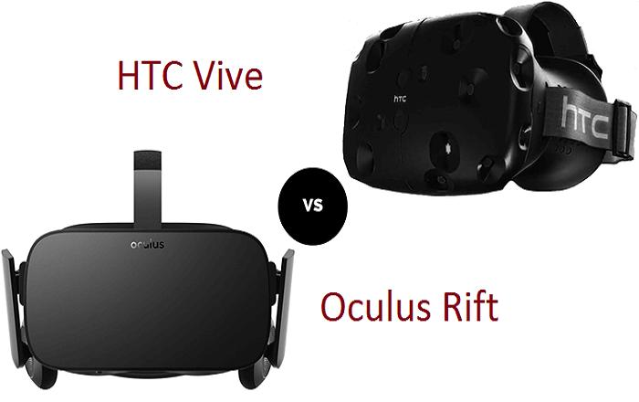 Oculus Rift vs. HTC Vive VR Headset: Here's who won