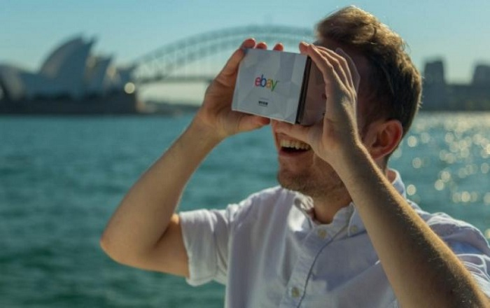 EBay brings to You the First Ever Virtual Reality Departmental Store