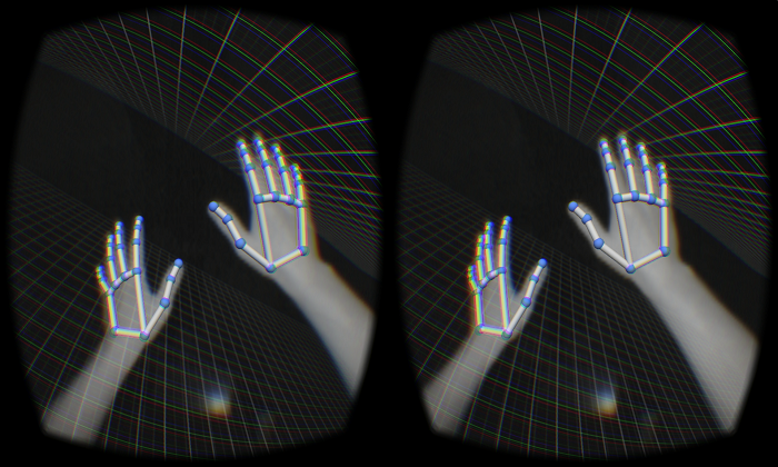 Course Set by Leap Motion For Virtual Reality