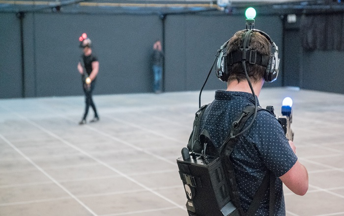 New-Gen Virtual Reality Prototype Lets You Customize Your Own Weapons
