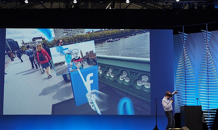 Facebook Allows One To Have News Feeds On VR Headset Screen