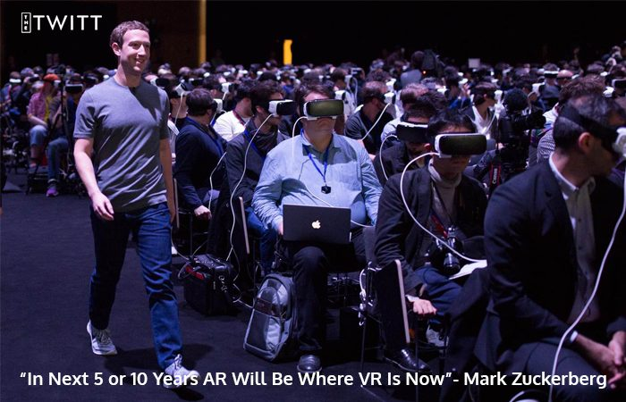 Mark Zuckerberg Admits AR Will Soon Be Where VR Is Now