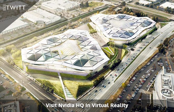 Check Out The New Headquarters For Nvidia In Virtual Reality