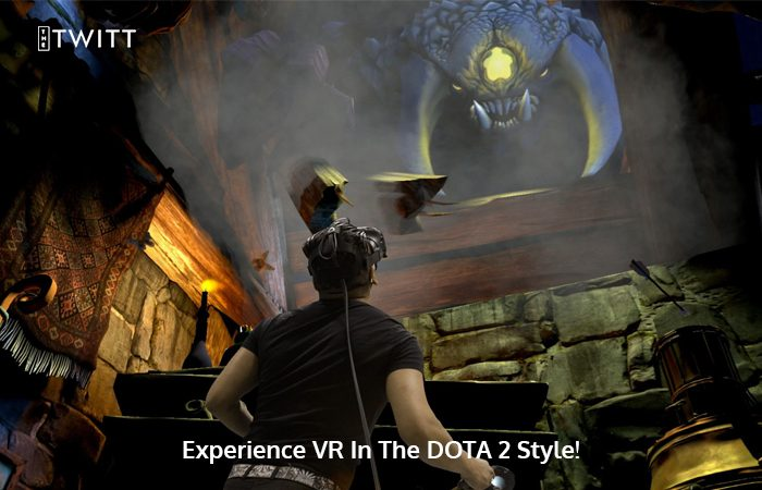 Spice Things Up With The DOTA 2 Limited Edition HTC Vive Headset