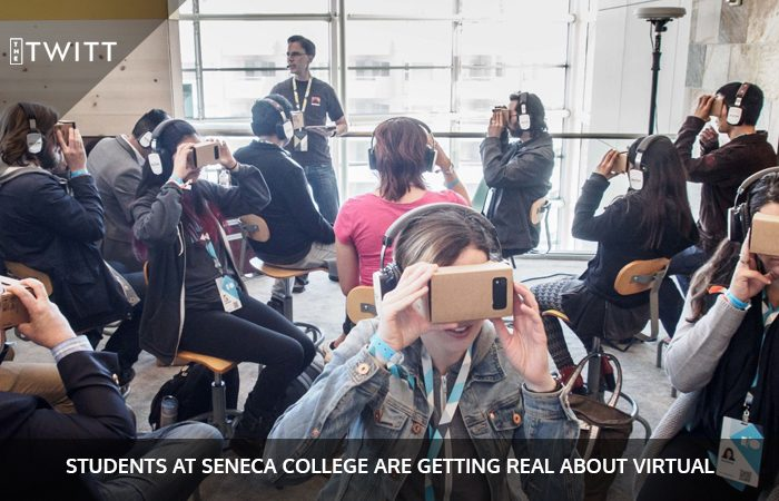 Virtual Reality Course Now At Seneca College