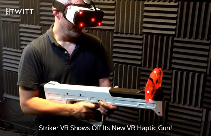 Check out working prototype of Arena Infinity Haptic VR Gun