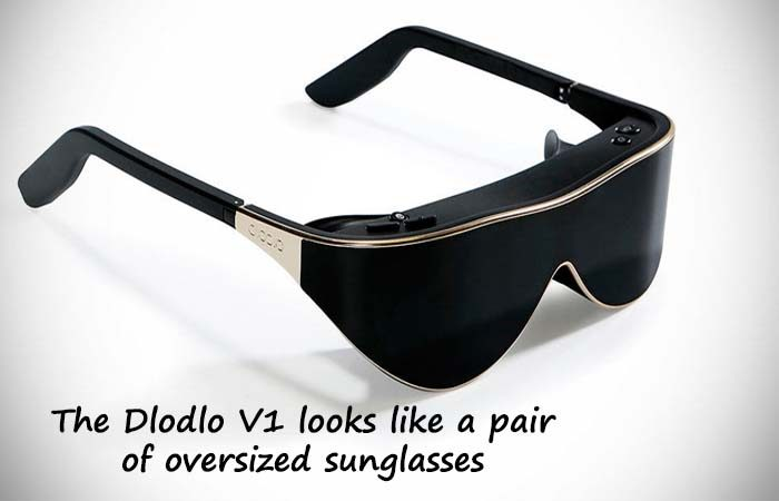 Hands-On Dlodlo's V1 Stylish Virtual Reality Glasses