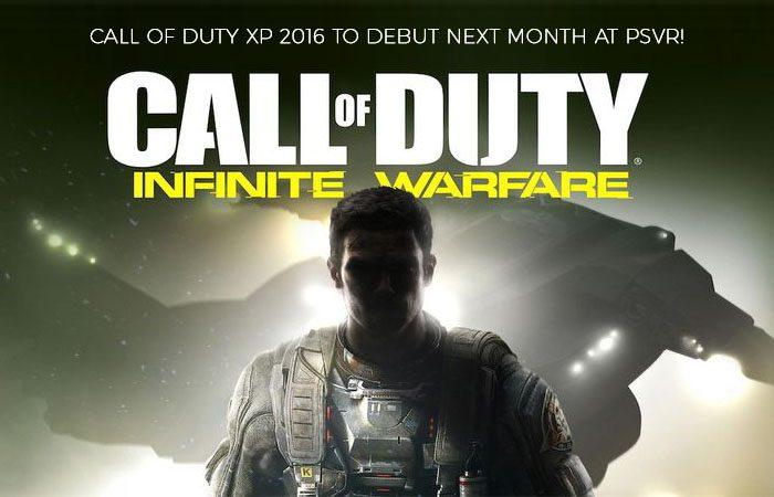 PSVR Fan Event to Feature Call of Duty: Infinite Warfare VR