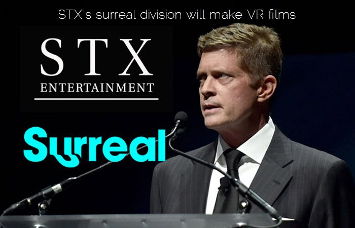 STX ENT. To Launch New Kingdom For VR By Acquiring Surreal .INC