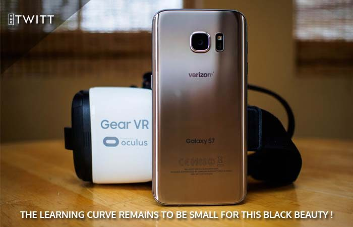 Samsung's New Gear VR Headset For Galaxy Note 7 Hands On Review