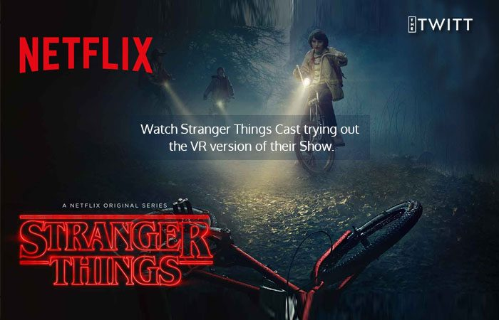 Stranger Things In VR Scared The Pants Off Of The Show's Cast