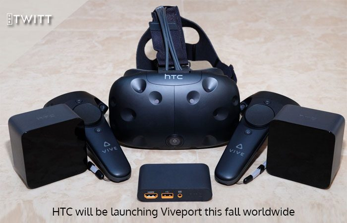 Virtual Reality's App Store, A Treat For The World By HTC Soon!