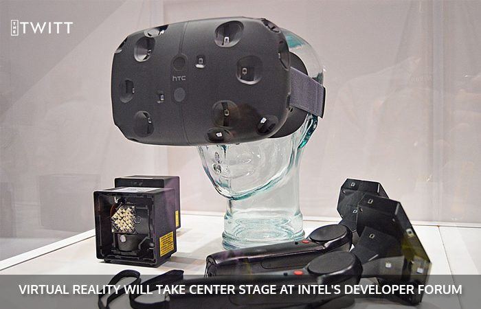Intel's Depth Camera For HTC VIVE To Be Showcased At IDF