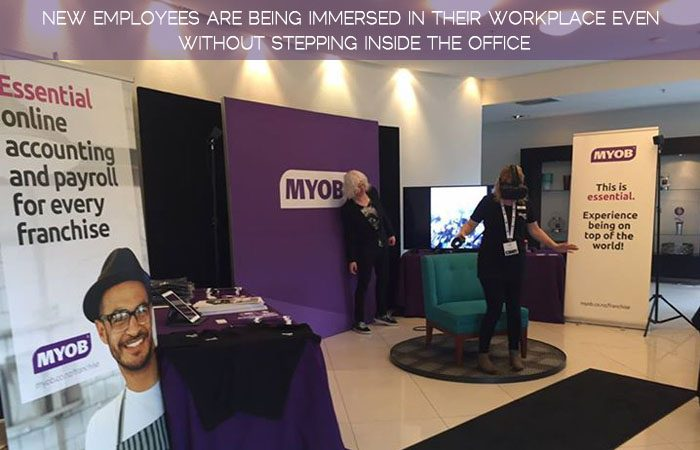 MYOB Uses VR To Give An Immersive Experience To The New Recruits