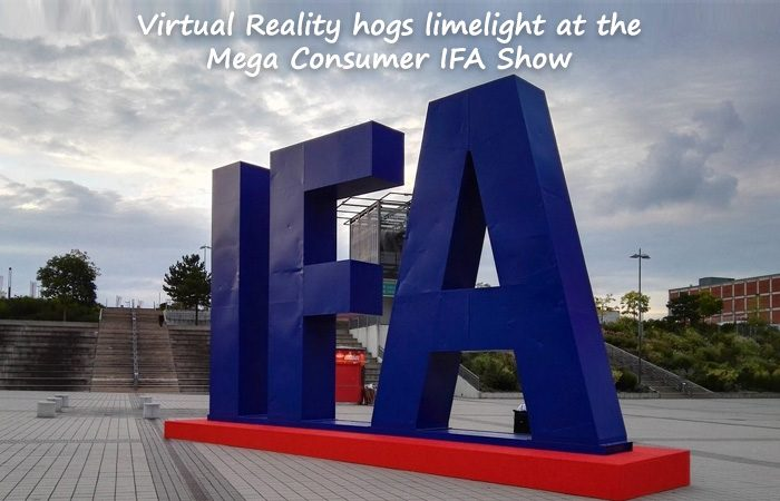 Berlin Showcases AR/VR Headsets, Gadgets At Mega Consumer IFA show