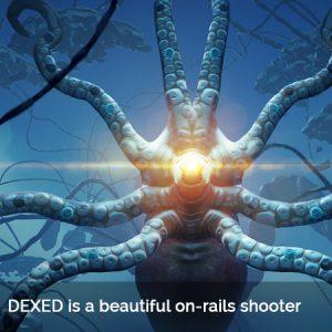 Dream-like On-Rails Shooter 'DEXED' by Ninja Theory'