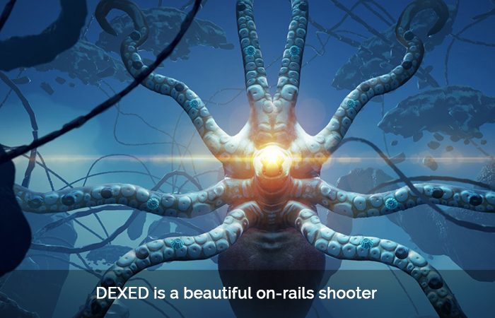 Dream-like On-Rails Shooter 'DEXED' by Ninja Theory'