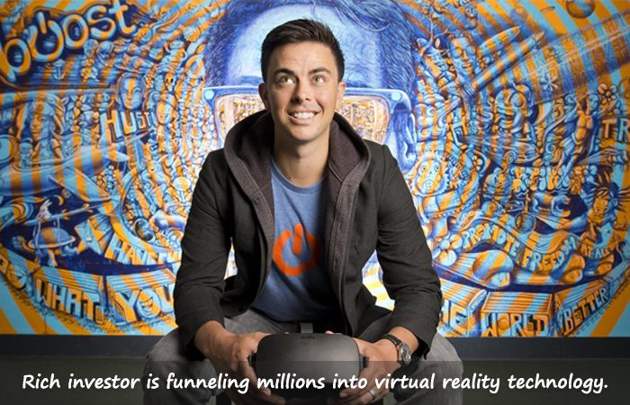 A Man who's Bankrolling Virtual Reality