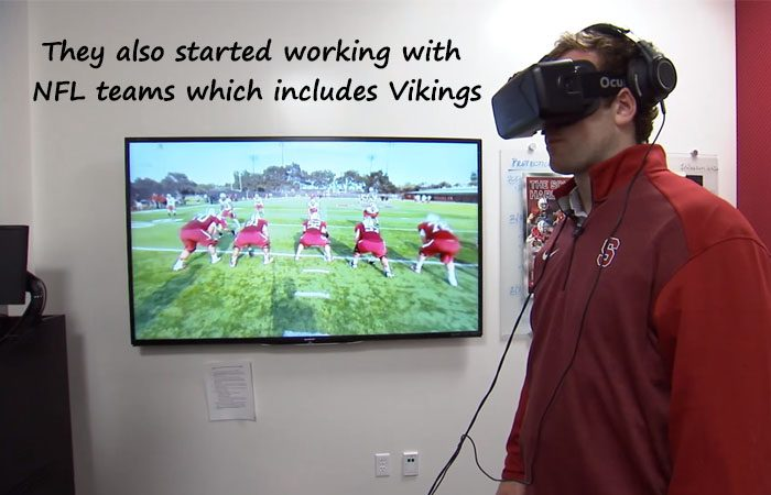 Now Learn Football, Basketball, Baseball With VR's STRIVR Labs