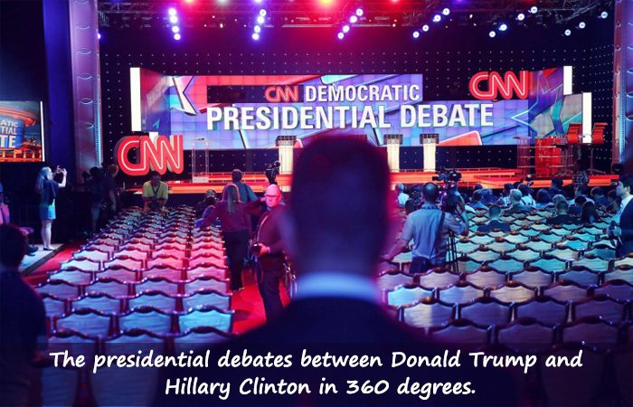 Now Witness the Presidential Debate in Virtual Reality