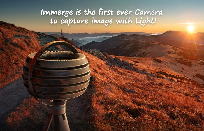 The First Ever Light Field VR Camera- Immerge By Lytro Is Here