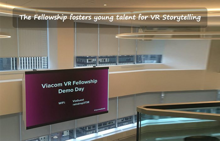 Viacom Introduces Summer 2016 VR Fellowship at NYC Media Lab