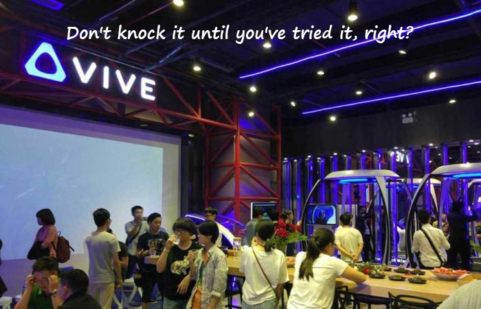 HTC to Launch Innumerable 'Vive VR Cafes' in China Next Year