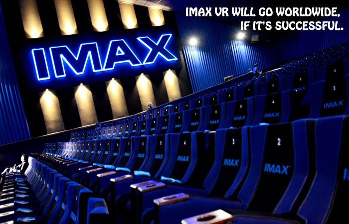 IMAX Is Now Coming To Europe With VR!