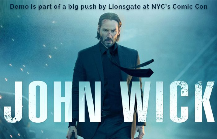 Lionsgate and Starbreeze Present Highly Anticipated 'John Wick VR'