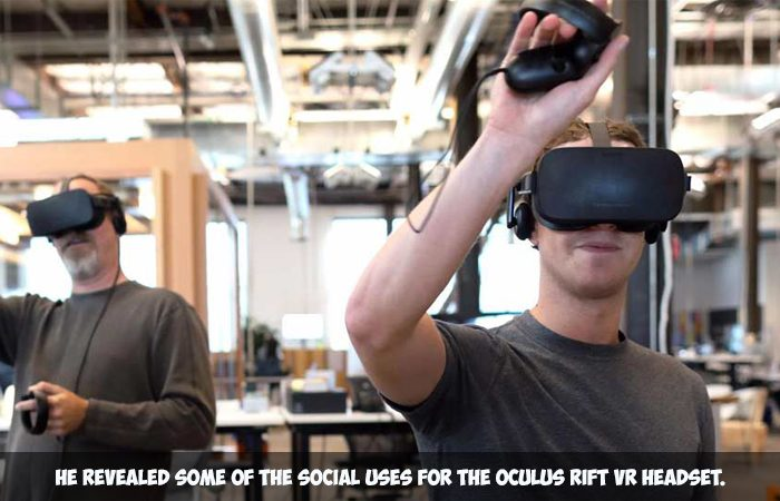 Mark Zuckerberg Is Now Teaching VR To The World Leaders