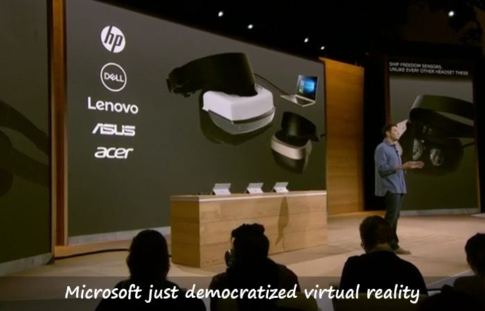 Microsoft Just Made VR Possible For All With $299 Headsets