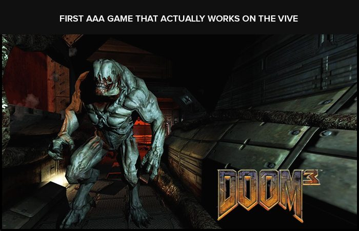 'Doom 3' For Virtual Reality- Brought To You By, New Mod