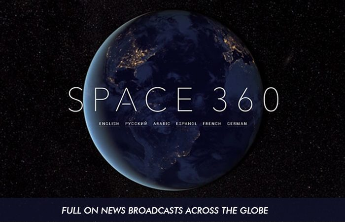 First-Ever 360-Video Recorded In Space By RT (Global News)