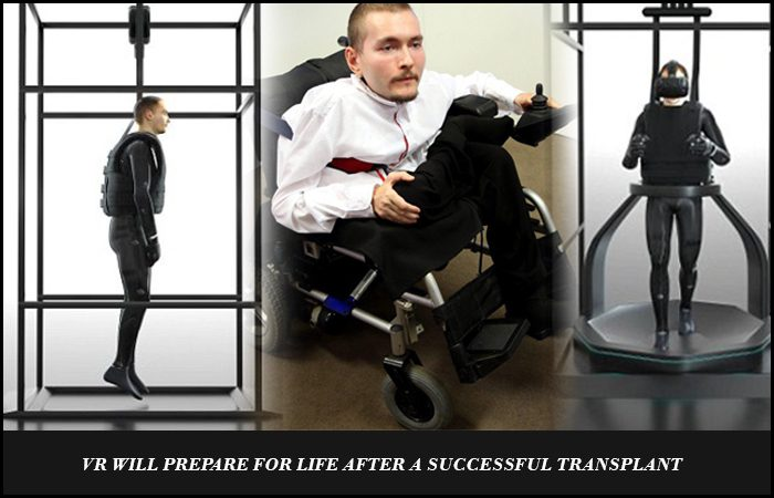 VR Will Prepare Patient for New Body by World's First Head Transplant
