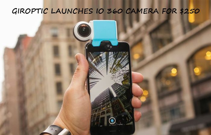 Now Shoot 360 Degree Video On Your iPhone With iO 360 Camera