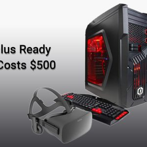 Cyberpower Inc., Created Oculus Ready PC to Be Bundled With Rift