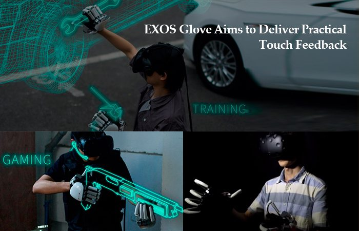 A New Haptic Enabled VR Exoskeleton Glove, But With A Twist