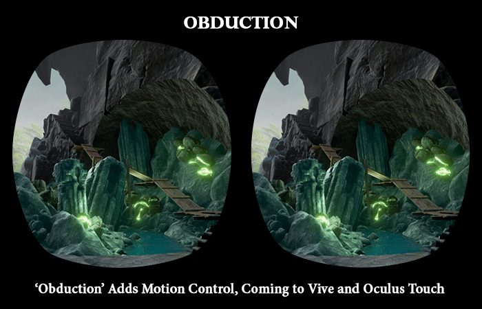 New addition in 'Obduction' Coming Soon to Vive and Oculus Touch