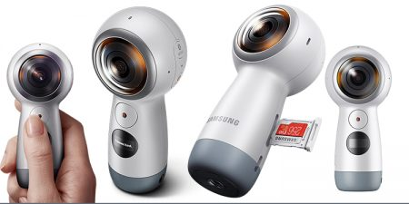 4K Capture And 2K, Live Streaming With Brand New Samsung's New Gear 360