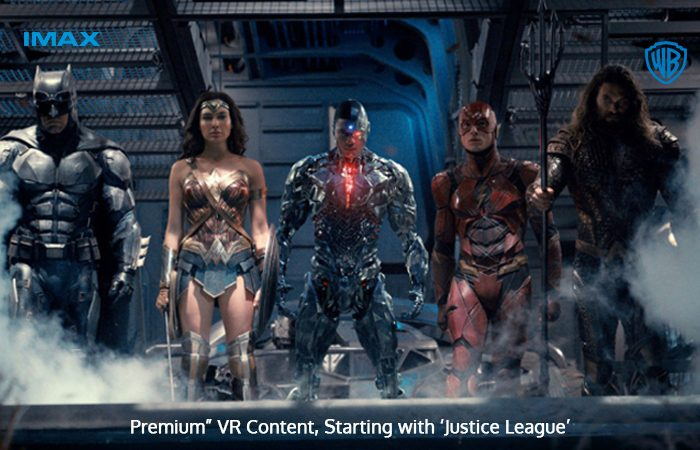 "Warner Bros. & IMAX Came Together For ""Premium"" VR Content"