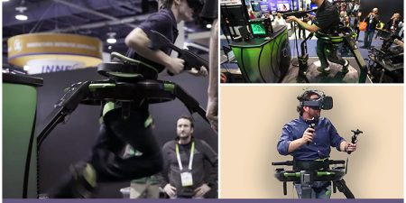 'Arizona Sunshine' Support To Virtuix Omni VR Treadmill With HTC