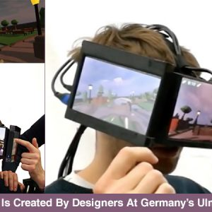 See What A Most Bizarre Virtual Reality Headset Looks Like!