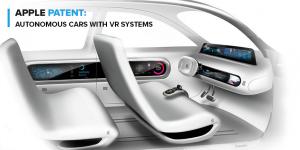 Apple Patent: Autonomous Cars with VR Systems