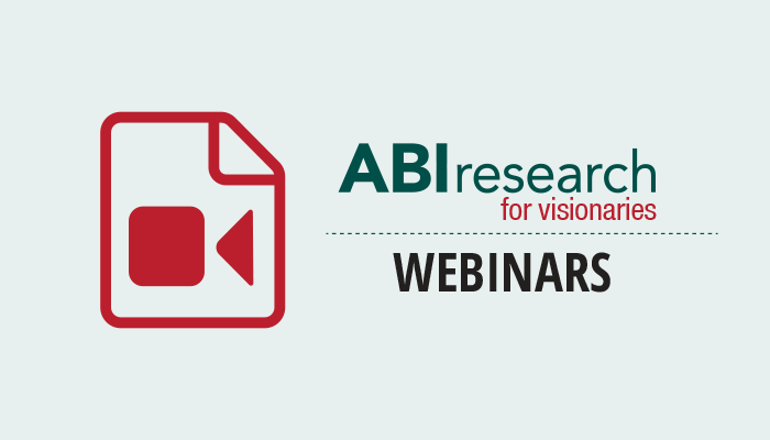 Latest Transformative Technologies Webinar by ABI Research