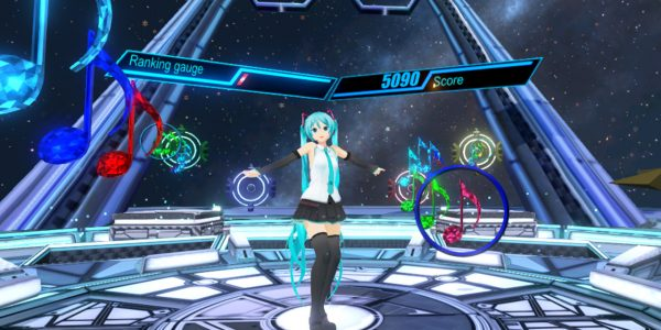 Hatsune Miku VR – The Most Popular Rhythmic Action Videogame