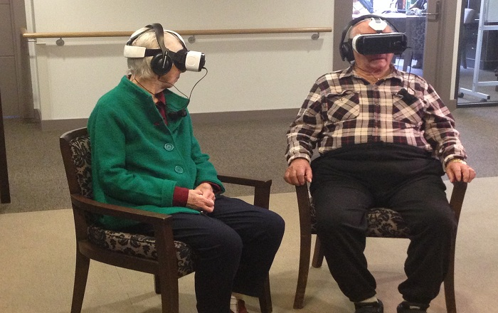 Virtual Reality Could Bring Back Memories in Patients Living with Dementia
