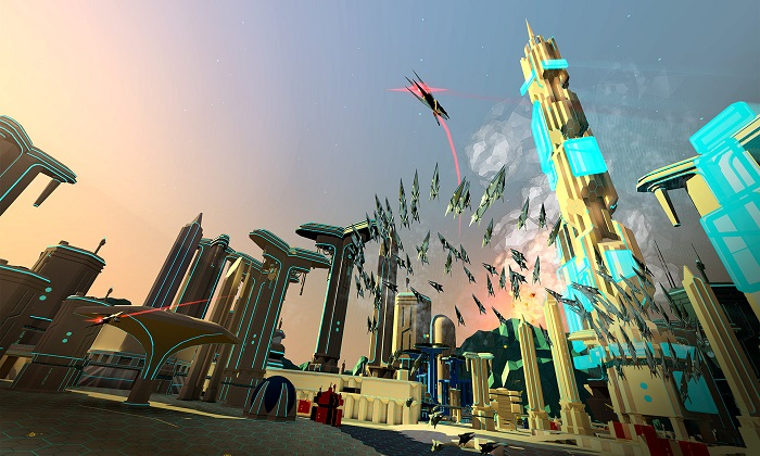 Classic Shooter Arcade Battlezone Gets a New VR Trailer At E3