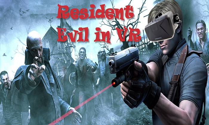 Most Terrifying Game in Virtual Reality- Resident Evil